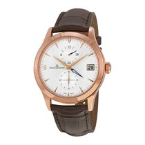 Jaeger-LeCoultre Master Hometime Silvered Dial Men's Watch