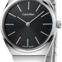 ck Calvin Klein Supreme K6C23141 Damenarmbanduhr flach &...