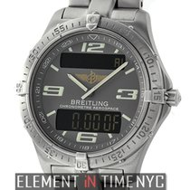 Breitling Aerospace Titanium 40mm Grey Dial 2006 Ref. E75362