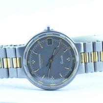 Longines Damen Uhr Quartz Conquest Titan/gold 26mm Rar