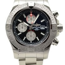 Breitling Super Avenger II Automatic Chronograph 48mm Black...