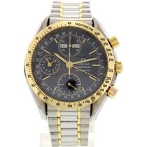 Omega Men's Omega Speedmaster Day-Date Chronograph 18k YG...