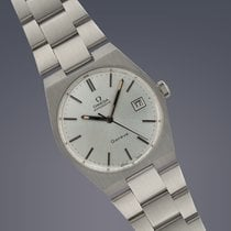 Omega Geneve stainless steel automatic watch