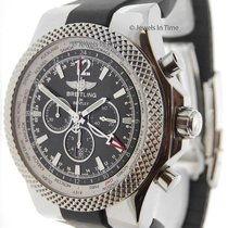 Breitling Bentley Mens Watch Stainless Steel Automatic GMT...