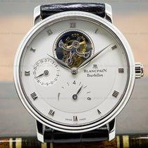 Blancpain 6025-3442-55B Villeret Tourbillon 8 Day Platinum...