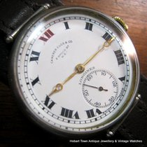 Longines Trench Style Dble Brand O'size St.Silver Case...