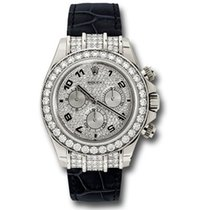 勞力士 (Rolex) Rolex Daytona White Gold - Diamond Bezel