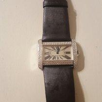 Cartier Tank Divan 18kt White Gold Diamond WA301271