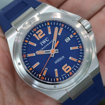 "IWC Ingenieur ""plastiki"" Mission Earth Blue Iw323603..."