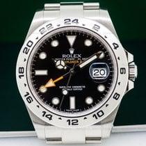 Rolex 216570 Explorer II Black Dial SS / SS (26322)