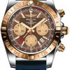 Breitling Chronomat 44 GMT Steel and Gold on Diver Pro ...