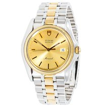 Tudor 1990s  Monarch Two-Tone 18K Yellow Gold/Steel Quartz 15633