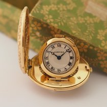 Cartier Purse Watch Vintage 18K Yellow Gold