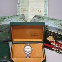 Rolex Oyster Perpetual Datejust Roman Dial 36mm Box/Papers