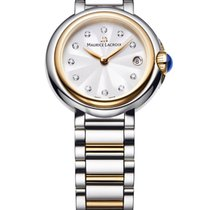 Maurice Lacroix Fiaba Silver Dial Ladies Watch 2-TONE