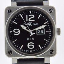 Bell & Ross BR 01-96 GRANDE DATE - SERVICED 2 YR FELDMAR...