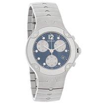 Movado S.E. Sports Edition Mens Blue Dial Swiss Chronograph...