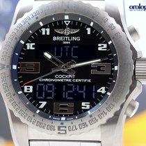 Breitling Men's Professional Cockpit B50 Titanium on...