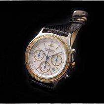Jaeger-LeCoultre HERAION 151757 VINTAGE CHRONOGRAPH STEEL/GOLD