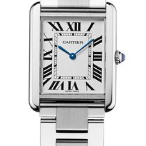 Cartier Tank Solo Large Silver Dial W5200014