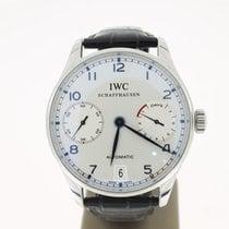 IWC Portuguese 7 Days Steel 42mm (B&P2012) BlueHands OpenBack