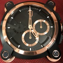 Romain Jerome Moon Invader Black Chronograph (Dealer Clock)(Ve...