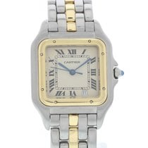 Cartier Midsize Cartier Panthere 18K Yellow Gold & SS W/...