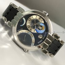 Harry Winston - Time Zone 200-MMTZ39W Grey Dial WG
