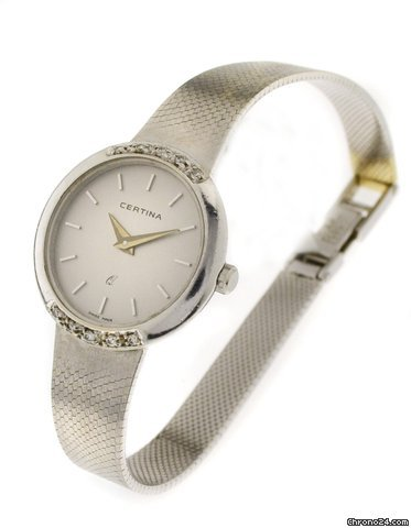 Certina 14 Ct. White gold