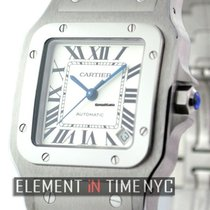 Cartier Santos Collection Santos Galbee XL Stainless Steel...