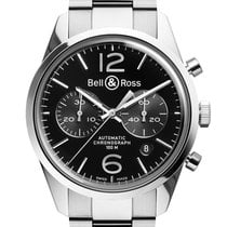 Bell & Ross Vintage BR 126 Chronographe Officer Black