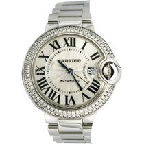 Cartier WE902035 BALLON BLUE DE 33mm WHITE GOLD 2017