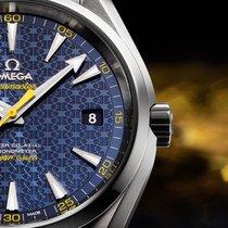 Omega AQUA TERRA 150 M OMEGA MASTER COAXIAL 41.5 MM edicion...