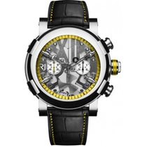 Romain Jerome STEAMPUNK CHRONO YELLOW 50mm Stainless Steel
