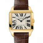 Cartier Santos Dumont 18K Solid Yellow Gold