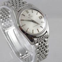 Omega Seamaster Automatic Date Stahl Steel #S
