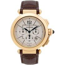 Cartier Pasha 18K Rose Gold Automatic Men's Watch – W3019951