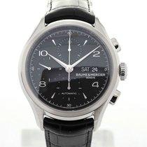 Baume & Mercier Clifton Automatic Chronograph 43 Black Dial