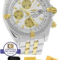 Breitling Chronomat Evolution Chronograph Two-Tone B13356 44mm...