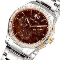 Maurice Lacroix Miros Chronograph Diamonds Damenuhr MI1057-PVP...
