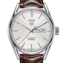 TAG Heuer Carrera Calibre 5 Day-Date Automatic Watch 100 M