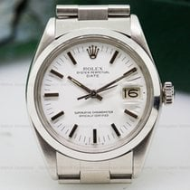 Rolex 1500 Oyster Date SS White Dial (25448)
