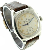 Rolex Mens Vintage 1940s Rolex Cushion Shaped Ref. 3139 Oyster...