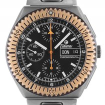 Tutima Military Chronograph Day Date Titan Rosegold Automatik...