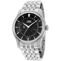 Oris Artelier Black Dial Stainless Steel Men's Watch...