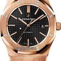 Audemars Piguet Royal Oak 41mm - rose gold - black dial