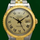 Rolex Datejust 16253 Turn O Graph 36mm 18k Gold Steel Box&...