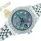 Rolex Datejust Date Ss W/tahitian Mop Diamond 6916