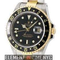 Rolex GMT-Master II Steel & Yellow Gold Black Dial A...