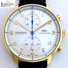 IWC Portuguese Chronograph Rose Gold